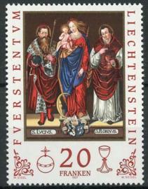 Liechtenstein, michel 1151, xx