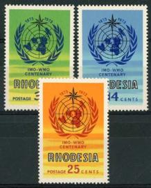 Rhodesie, michel 132/34, xx