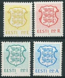 Estland , michel 176/79 , xx
