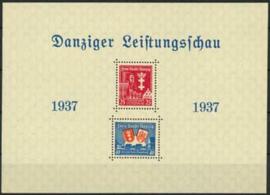 Danzig , michel blok 3 , xx