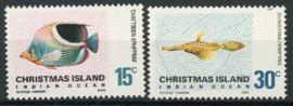 Christmas Isl., michel 35/36, xx