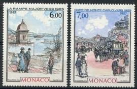 Monaco , michel 1841/42 , xx