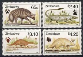 Zimbabwe, michel 611/14, xx