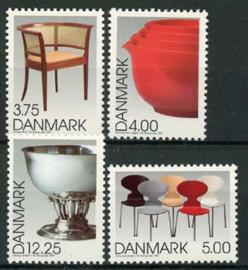 Denemarken, michel 1166/69, xx