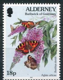 Alderney, michel 100 A, xx