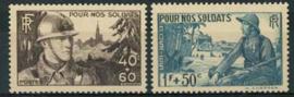 Frankrijk, michel 464/65, xx