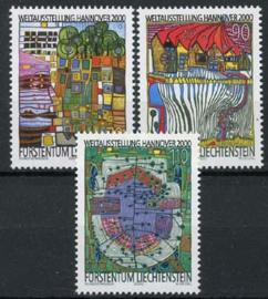 Liechtenstein, michel 1235/37, xx