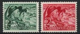 Duitse Rijk, michel 684/85, xx