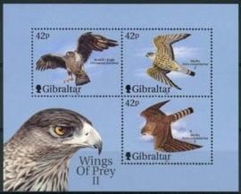 Gibraltar, michel blok 44, xx