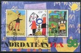 Faroer, michel blok 8, o