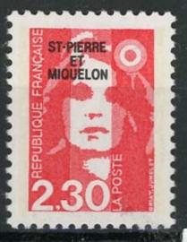 St.Pierre, michel 586, xx