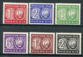 Rhodesie, michel P 5/10, xx