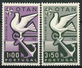 Portugal, michel 878/79, xx