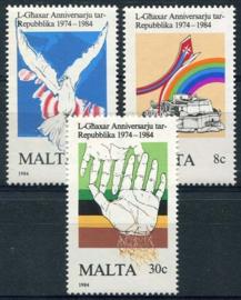 Malta, michel 716/18, xx