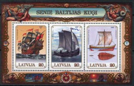 Letland, michel blok 11, xx
