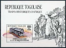 Togo, michel blok 257, xx