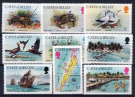 Cayes of Belize, michel 1/9, xx