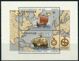 Faroer, michel blok 5, xx