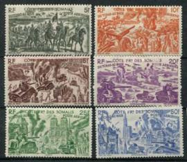 Somalie Frans, michel 279/84, x