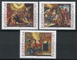 Liechtenstein, michel 1217/19, xx