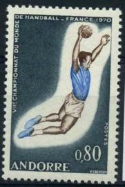 Andorra Fr., michel 221, xx