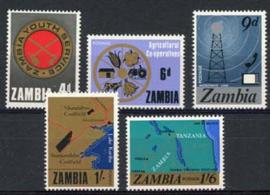 Zambia, michel 34/38, xx