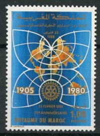 Marokko, michel 926, xx
