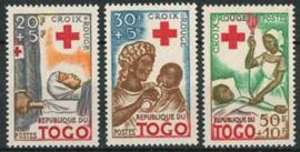 Togo, michel 268/70, xx