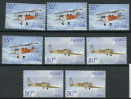 IJsland, michel 979/80 D/E, xx