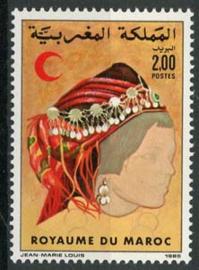 Marokko, michel 1077, xx