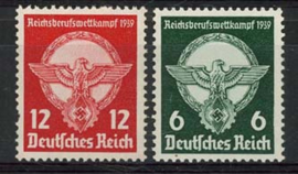 Duitse Rijk, michel 689/90, xx
