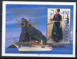 Faroer, michel blok 9, xx