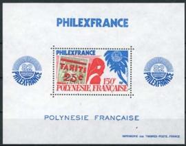 Polynesie, michel blok 6, xx