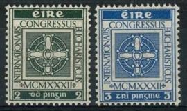 Ierland, michel 57/58, x