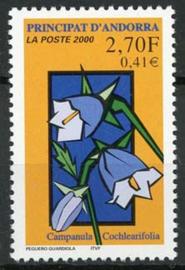 Andorra Fr., michel 550, xx