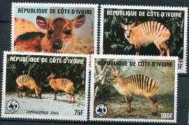 Ivoorkust, michel 881/84, xx