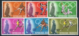 Togo, michel 661/66, xx