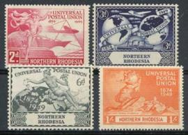 N.Rhodesie, michel 50/53, xx