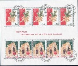 Monaco, michel blok 17, o