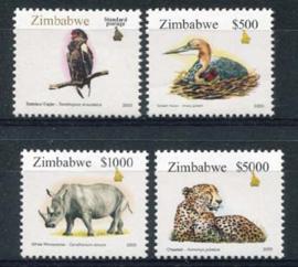 Zimbabwe, michel 756/59, xx