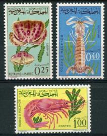 Marokko, michel 553/55, xx