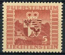 Liechtenstein, michel 252, x