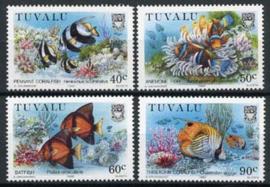 Tuvalu, michel 545/48, xx