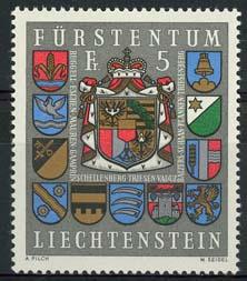 Liechtenstein, michel 590, xx