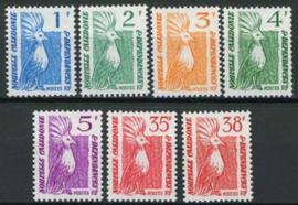 N.Caledonie, michel 750/56, xx