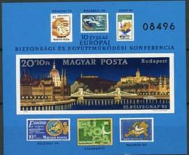 Hongarije, michel blok 159 B, xx