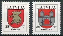 Letland, michel 438/39, xx