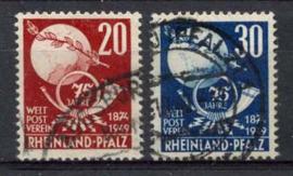 Rheinland, michel 51/52, o