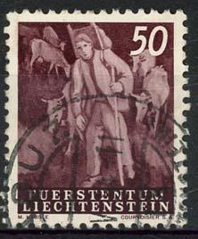 Liechtenstein, michel 296, o