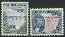 Rhodesie & Nyasaland, michel 17/18, xx